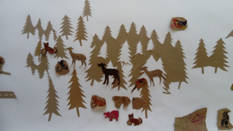 Had such a lovely time this year at the Linanhall's Roola Boola Children's Festival facilitating a workshop on behalf of the wonderful cut-paper artist Maeve Clancy
